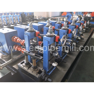 high frequency oval pipe making machine