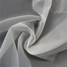 White Terylene Organza Tulle Fabric for Wedding Dress