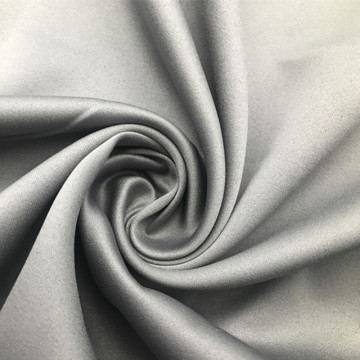Smooth Grey Satin fabric