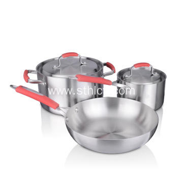 Stainless Steel Cooking Pots And Pans