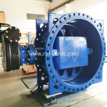 DN1600 PN16 Double Eccentric Butterfly Valve