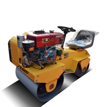 Small vibratory roller vibrating roller compactors soil compactor for sale FYL-850S