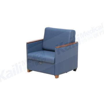 Medical Hospital Accompany Chair Bed