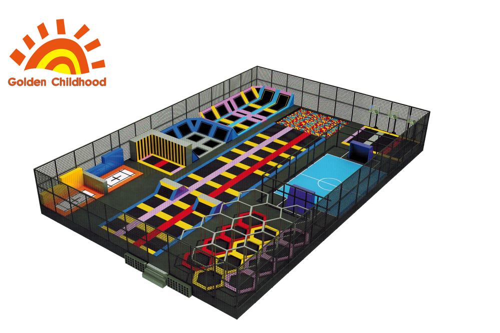 safety professional indoor trampoline park