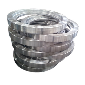 Excavator gear ring forging