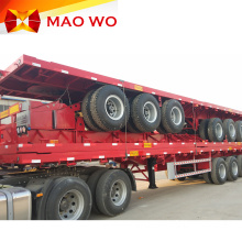 40ft Flatbed Container 3 Axles Semi Trailer
