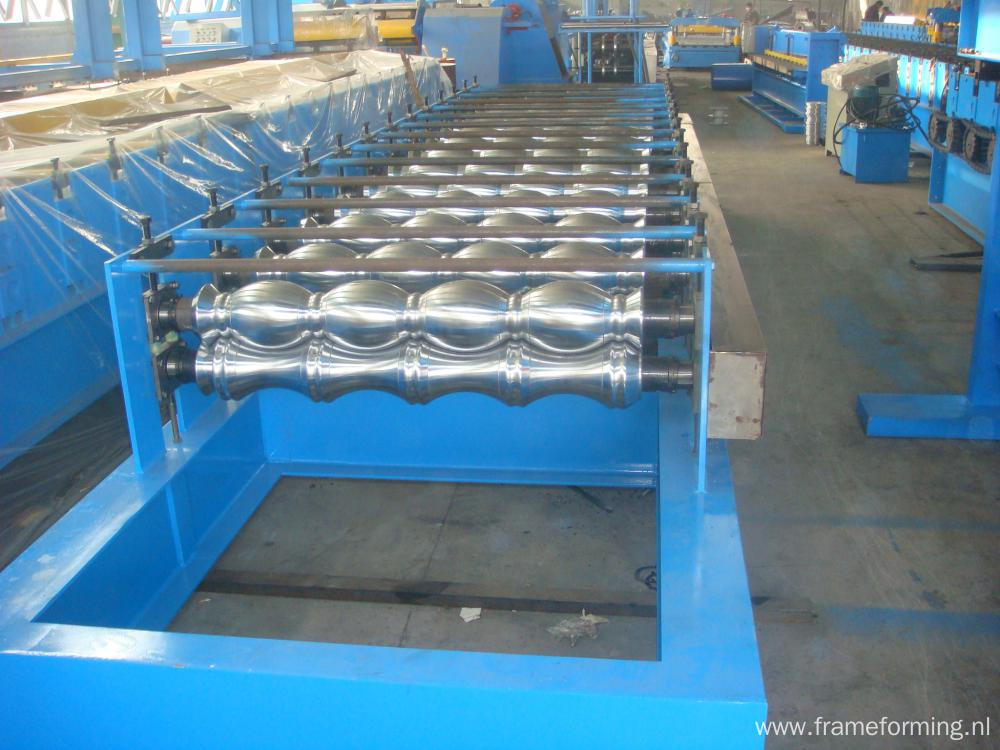 Botou Haide Corrugated Glazed Tile Steel Making Machine