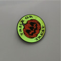 Custom Luminous Pumpkin Enamel Lapel Pin Badge