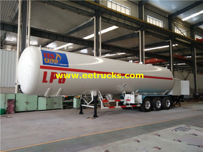 LPG Tank Trailer with Pump
