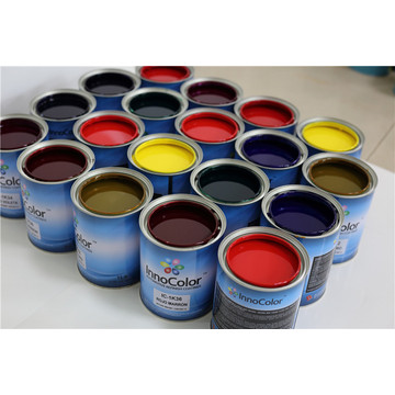 1K Basecoats Solid Car Coating Automotive Refinish Paint