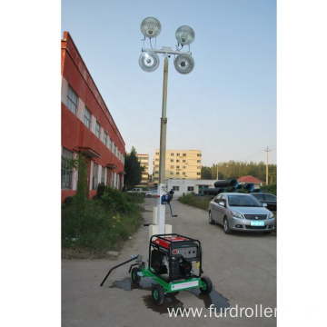 High quality easy mounted portable led light tower FZM-1000B