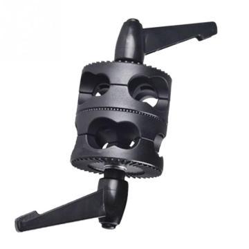 Angle Holder LED Light Mount Dual Swivel Multifunctional Photo Studio Accessories Grip Head Clamp Bracket Photography Universal