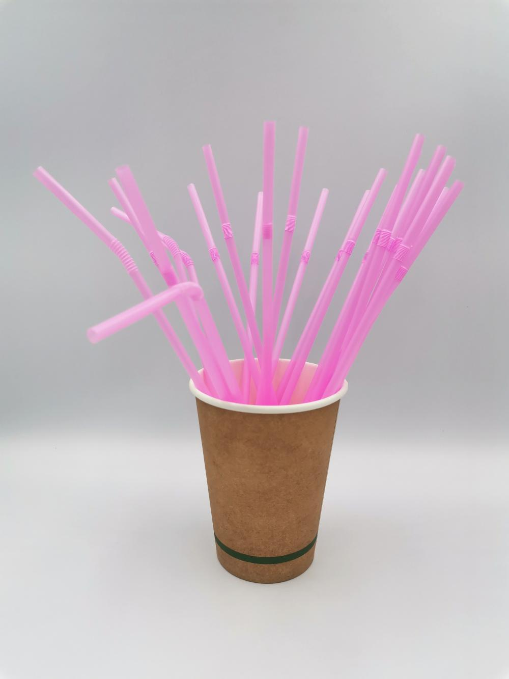 Eco-Friendly Flexible Disposable Drinking Straw
