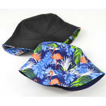 Reversible Printing Fashion Women Bucket Hat