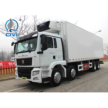 8x4 Refrigerated Truck with HOWO Chassis