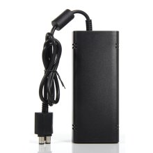 Mini Sealed AC Brick Adapter Power Supply for Xbox 360 Slim With Charger Cable 135W Universal 110-220V Wide Voltage Low Noise