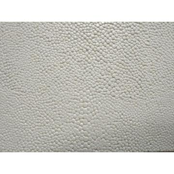 Special small stones line PU leather