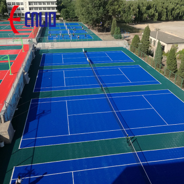 Easy Installation  PP Basketball Modular Sports Flooring