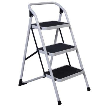 New HD 3 Step Ladder Platform Lightweight Folding Step Stool 330 LB Cap. Space Saving TL29083