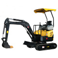 Factory direct price 1ton xiniu small wheeled excavator