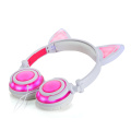 chargeable glowing cute cat ear headphone