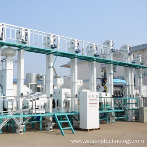 30-40tons per day rice milling machine/rice milling plant