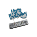 Alphabet Letters Shaped Birthday Candles