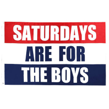 Wholesale Saturdays for the Boys Flags 3X5
