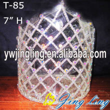 "7"" Rhinestone Pageant Crowns And Tiaras For Sale"