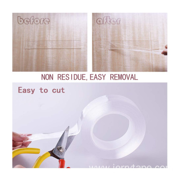 Universal Transparent Nano Tape Washable