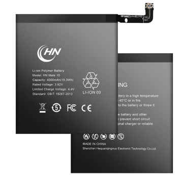 wholesale standard lithium battery for Huawei mate 10