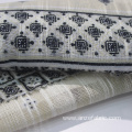 100 cotton leno PRINTED fabric for DRESS