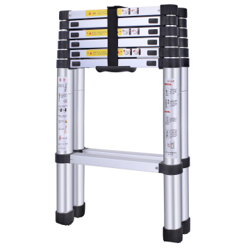 en131 aluminum telescopic ladder