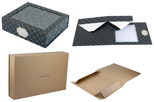 collapsible paper box