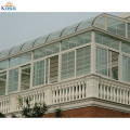Upvc Aluminum Frame Sunhouse Winter Glass Sun House