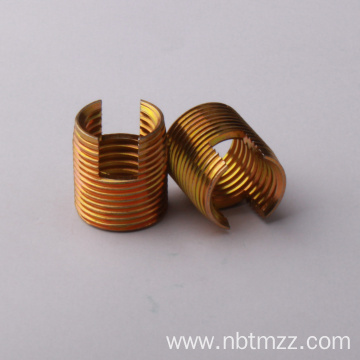 ISO self-tapping threaded inserts for plastic