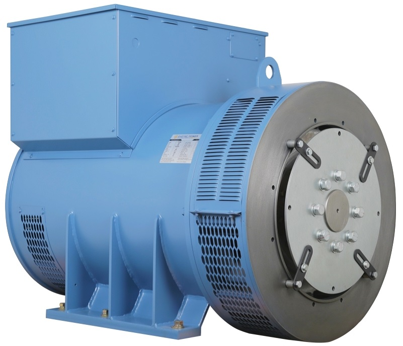 Brushless Diesel Engine AC Generator