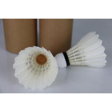 Natural Full Corks Level 1 Goose Feather Badminton