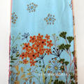 Colorful Ground Rayon Screen Print Fabric