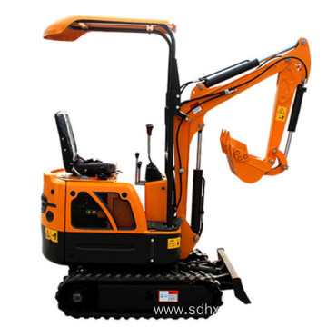 Powerful Earthing moving machinery HX08 mini excavator