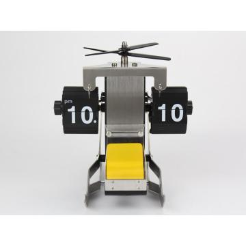 Adorable Helicopter Mode Flip Clock