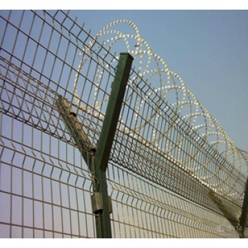 Top Quality PVC Coated Airport Concertina Fence