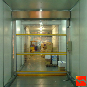 Transparent Servo High Speed Door