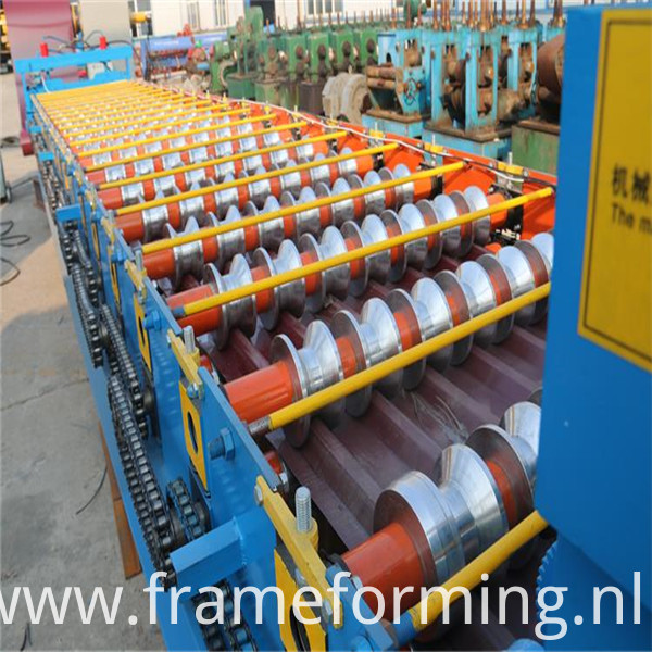 Corrugated Color Steel Making Machine2