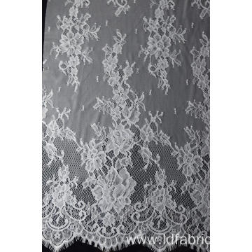 100% Nylon Panel Lace Fabric Design-A