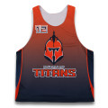 Custom design team reversible jerseys lacrosse tops