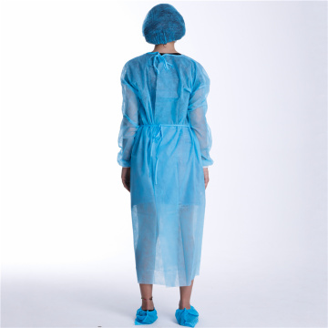 Customized Professional Disposable Hospital Isolation Gown