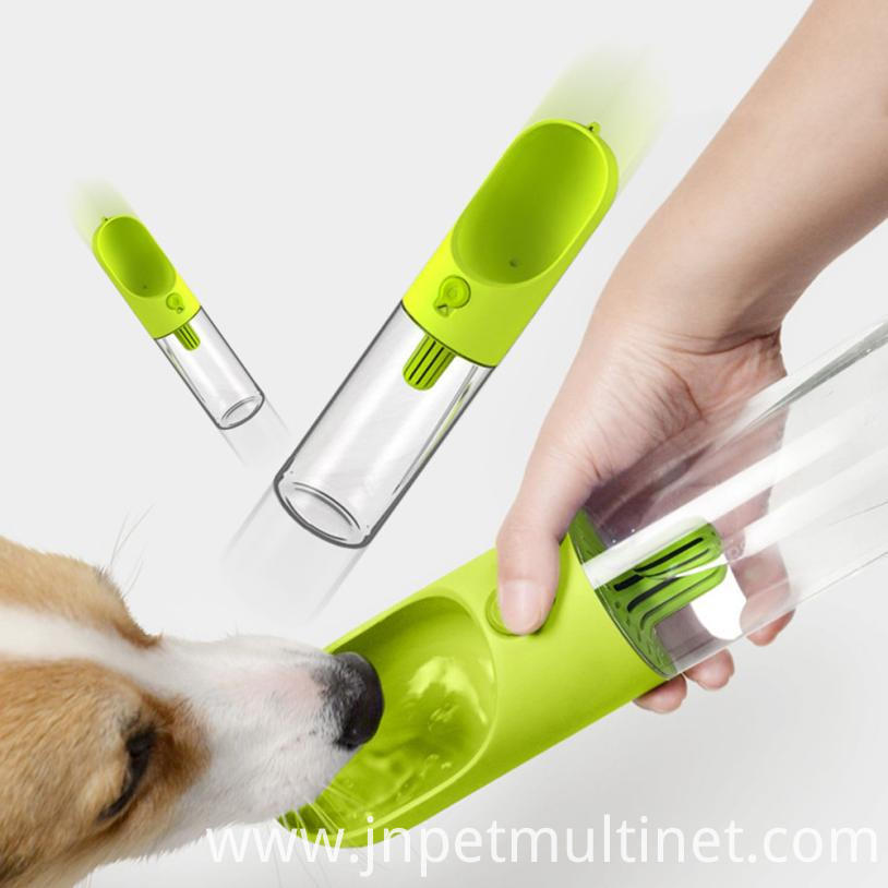 400ml Pet Travel Portable Water Dispenser Bottle Outdoor Pet Dog Filtrate Kettle Pp 3 Colors No 1