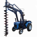 Tractor mounted ground hole drill/earth auger