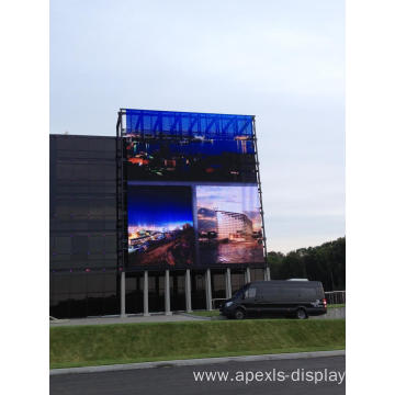 P16-16 outdoor high brightness glass LED display